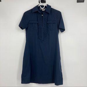 Pretty Diane Von Furstenberg Navy SS size 0 Dress